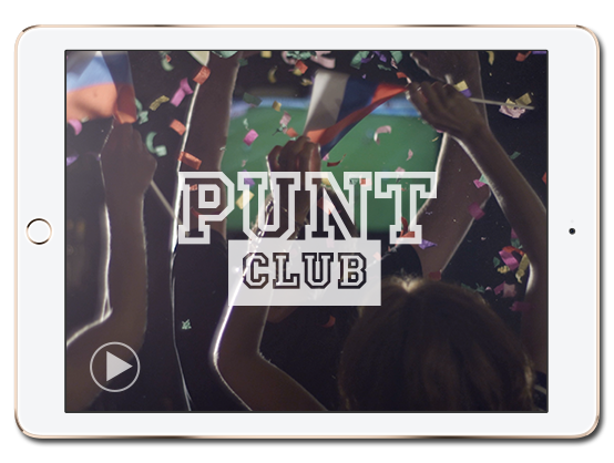Watch the Punt Club video